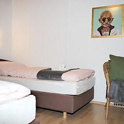 Hotel Doppelzimmer mit Einzelbetten