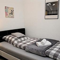 Hotel Einzelzimmer Bett