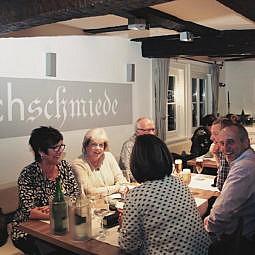 Restaurant Eröffnung Saschas Kochschmiede Gäste