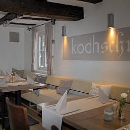 Restaurant Saschas Kochschmiede Tische